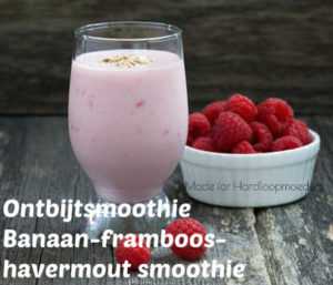 havermout-frambozen-smoothie
